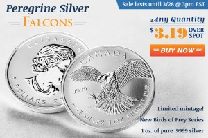 24-Hour Flash Sale! Peregrine Silver Falcons!