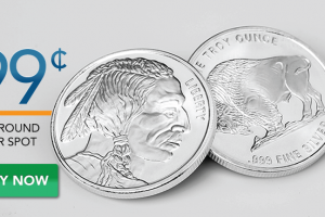 Silver Rounds 99¢ Over Spot!