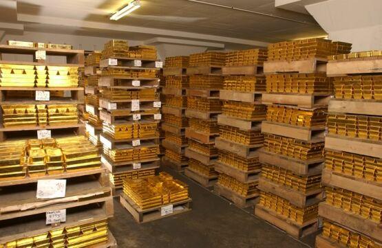 Fort Knox Gold Bars