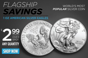 Silver Eagles Just $2.99 Over Spot Per Coin – Any Quantity!