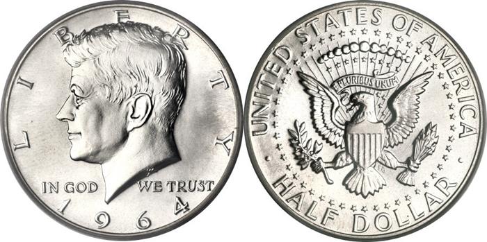 1964 Kennedy Half Dollar History Buy Gold Amp Silver