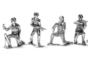 Silver Toy Soldiers (Silver Army Men)