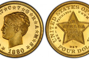 America's One and Only Four-Dollar Coin
