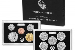 Enhanced Un-circulated Coin Set Marks the Mint's 225th Anniversary