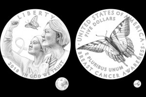Breast Cancer Awareness Commemorative Coin