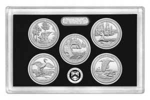 America the Beautiful Quarters 2018 Silver Proof Set