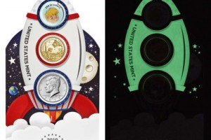 Glow in the Dark Coin-set for Kids