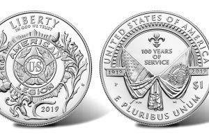 New Coins of the American Legion – $1 Silver