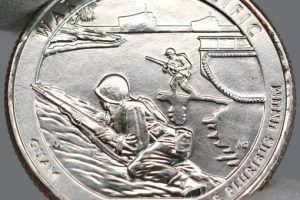 War in the Pacific National Park Quarter Released