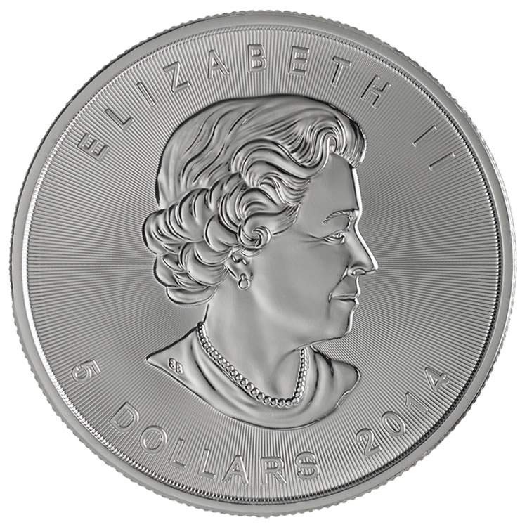 2014 Silver Maple Obverse