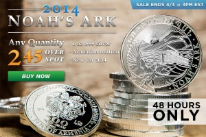 48-Hour Flash Sale! Silver Noah's Ark Coins!