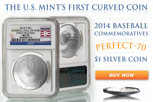 The U.S. Mint's First Curved Coin!