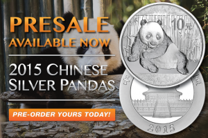 2015 Chinese Silver Pandas Available For Pre-Sale!!!