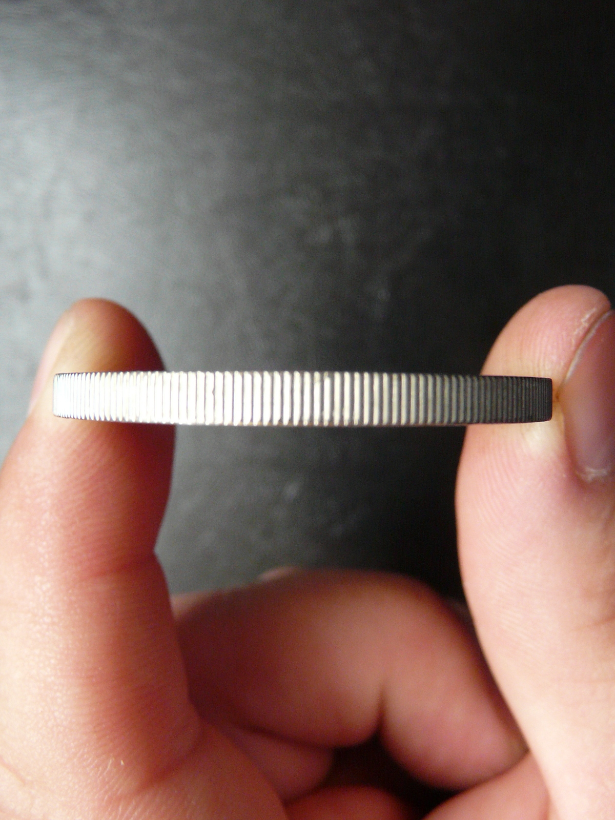 Reeded Edge Coin