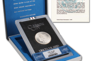 What Are GSA Carson City Morgan Silver Dollars?