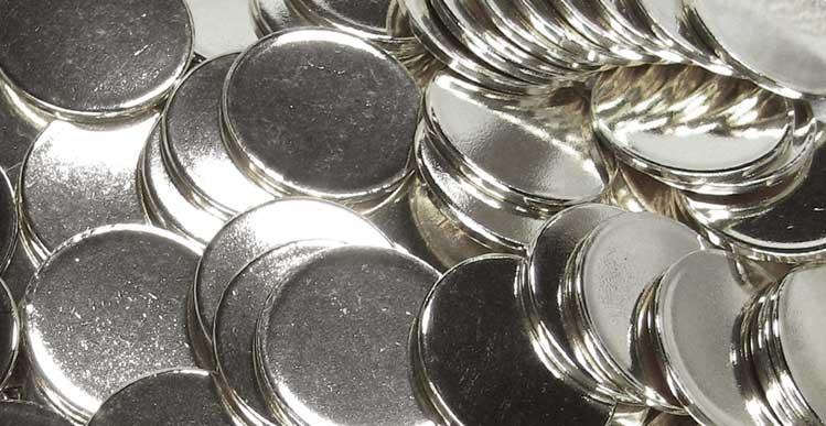 Burnished Silver Blanks