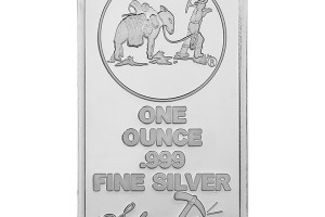 1 oz Silvertowne Prospector Silver Bars