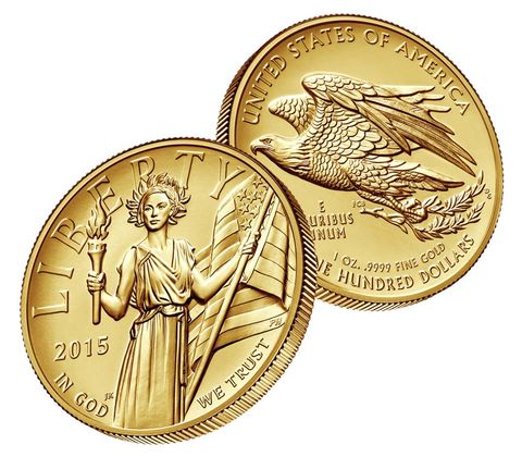 All About The New 2015 American Liberty High Relief Gold