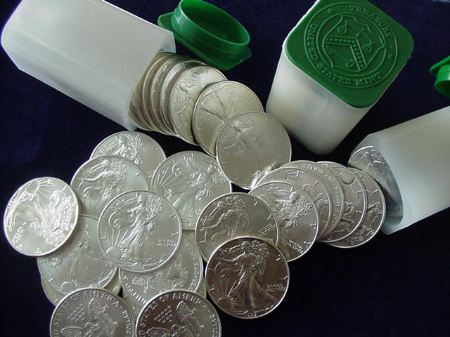 How Many Silver Coins Come In A Tube Buy Gold Amp Silver