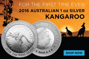 First Time Ever! 2016 Australian 1 oz Silver Bullion Kangaroos