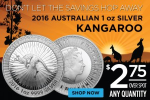 Silver Kangaroos – $2.75 Over Spot Any Quantity!