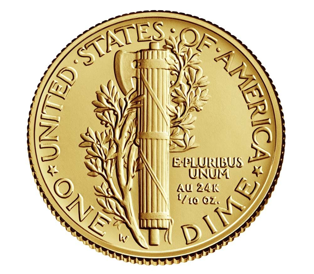 Gold Mercury Dime Buy Gold Amp Silver Online Official