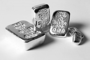 Atlantis Mint Skull and Crossbones Poured Silver Bars