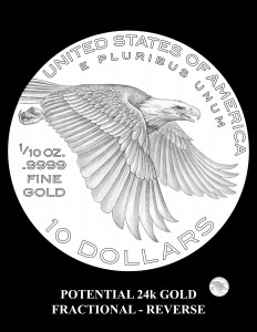 Potential-2018-ALGF-Reverse -- Potential 2018 American Liberty 24k Gold Fractional Coin