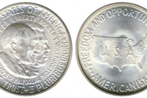 The Washington/Carver Commemorative Silver Half Dollar