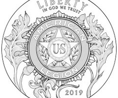 Designs for the American Legion Commemorative Coin Revealed