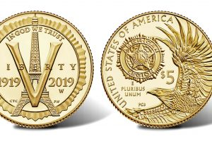 New Coins of the American Legion – $5 Gold