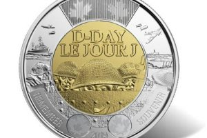 Canadian $2 Circulation D-Day Commemorative