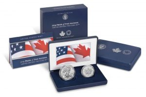US-Canada Pride of Two Nations Coin Set